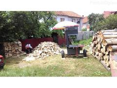 Secenje i cepanje drva bansekom