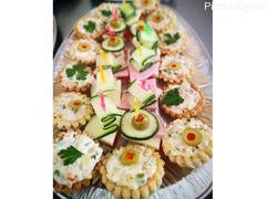 Izrada slanih rolata, kolača i torti