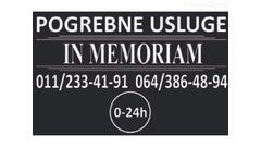 Pogrebne usluge In Memoriam