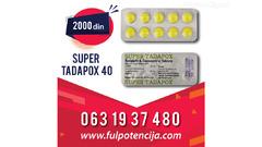 SUPER TADAPOX 40mg-2000 din- 063 1937 480