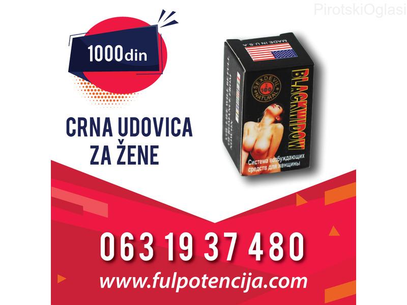Crna udovica - Potencija za žene - Cena 1000