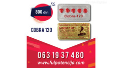 KOBRA TABLETE-Cena 800 - 063 1937 480