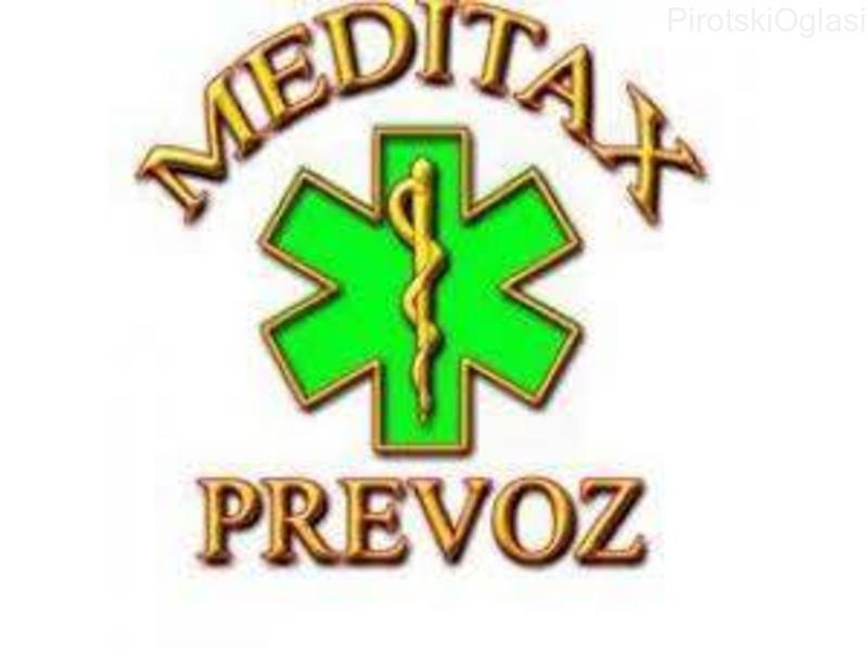 SANITETSKI PREVOZ PACIJENATA – Meditax Beograd - 062 8939262