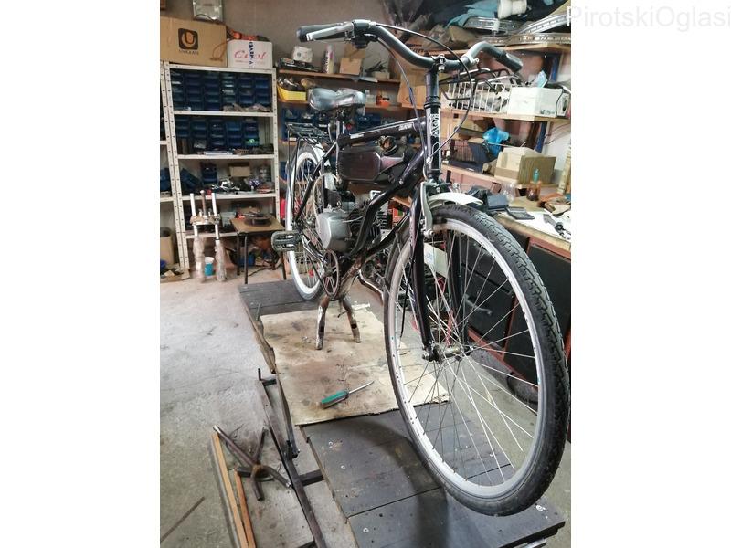 Servisiranja bicikala i mopeda