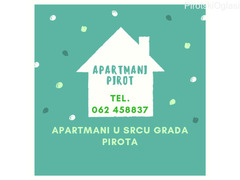 Apartmani Pirot